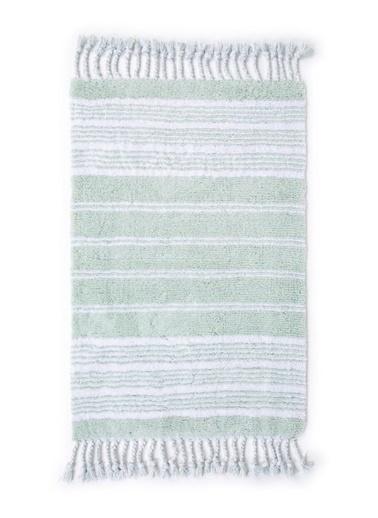 İrya Pamuk Banyo Paspası Martıl 70*110 Yeşil